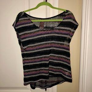 Multicolor Knit mid drift
